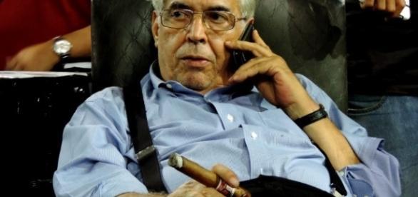 Eurico Miranda, presidente do Vasco, fala de novas posibilidades de contração. ( Foto: Google)
