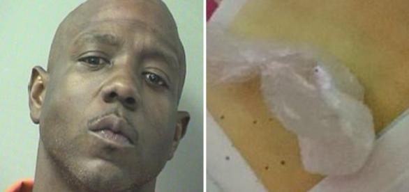 David Blackmon foi preso ao chamar a polícia porque sua cocaína havia sido roubada