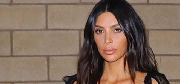 Kim Kardshian em look mais provocante