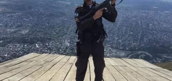 Mais um policial morreu no Rio de Janeiro (Foto: Reprodução)