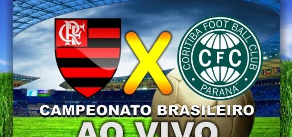 Neste sábado (22), tem Flamengo e Coritiba ao vivo, pelo Brasileirão. ( Imagem: Google)