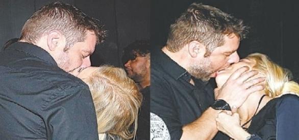 Cantora é flagrada aos beijos com diretor da Globo