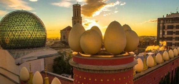 El Museo-Teatro de Dalí fue un regalo del pintor a su ciudad natal, Figueras.