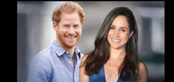 Prince Harry and Meghan Markle having been dating almost a year [Image: YouTube screenhot]
