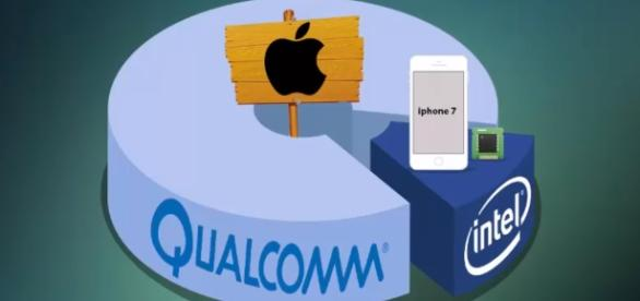 Qualcomm has been Apple's mobile chip maker until a legal dispute came between the two. (via AbanTech/Youtube)