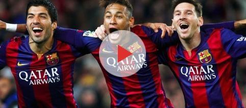 ofensiva letal del Barcelona F.C.,Messi, Neymar, Suárez