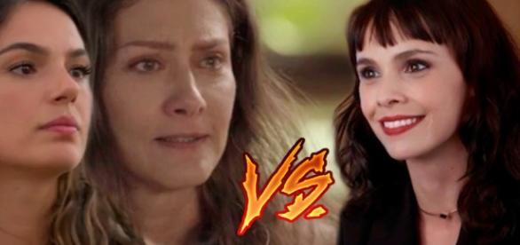 A Força do Querer: Ritinha e Joyce irão se unir para bater em Irene