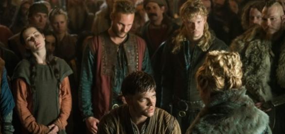 Filhos de Ragnar (Ubbe, Sigurd e Ivar) e rainha Lagertha