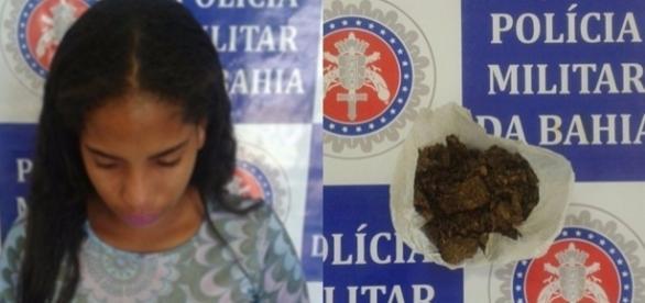 Maria Aparecida Vieira Cavalcanti foi detida e conduzida à Delegacia da cidade (Créditos: Chico Sabe Tudo e RBN)