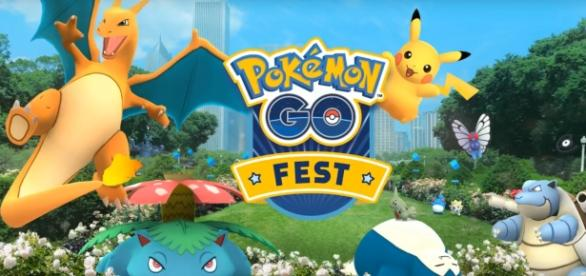 """Pokemon GO Fest"" turned out to be a huge disappointment, as players faced connectivity issues and hours-long lines (via YouTube/Pokemon GO)"