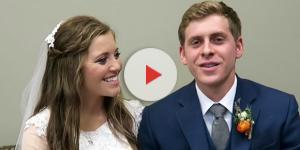 Joy and Austin on their wedding day - screenshot