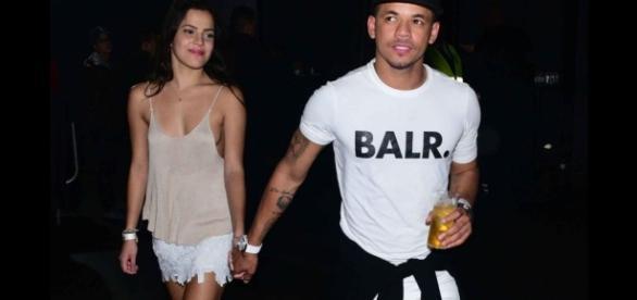 Emilly e Jô Amancio foram vistos juntos durante evento.