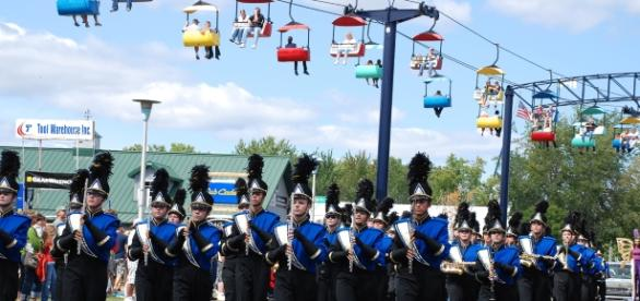 Photo from the Minnesota State Fair. The pride of Minnesotans has made their state fair the most popular one in the country..
