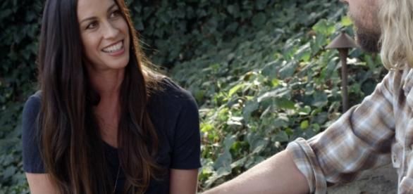 Alanis Morissette em entrevista. ( Foto: Reprodução)