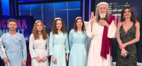 Inri Cristo no programa 'Luciana By Night' da RedeTV!