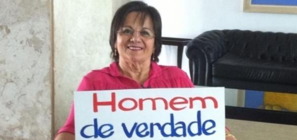 Maria da Penha Maia Fernandes, responsável do projeto.