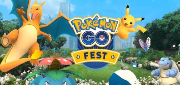 """""""Pokemon GO Fest"""" earned the ire of fans due to connectivity issues and long-hours lines (via YouTube/Pokemon GO)"""