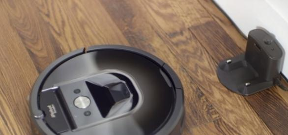 Roomba robotic vacuum soon to enter a greater tech market. (via iRobot/Youtube)
