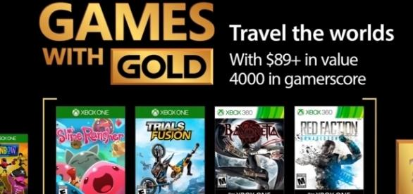 Xbox - August 2017 Games with Gold from YouTube/Xbox