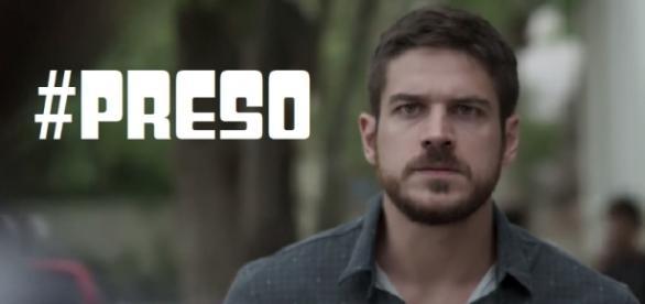 Zeca será preso e indiciado por tráfico de drogas em 'A Força do Querer' (Foto: Reprodução/ Montagem)