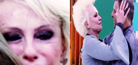Ana Maria Braga chora ao reencontrar Jorge Fernando (Foto: Reprodução)