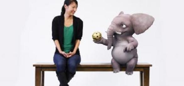 Disney's Magic Bench allows users to interact with 3D characters- Disney Research