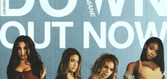 """Faixa de """"Down"""", do Fifth Harmony e Gucci Mane (Foto: Reprodução/ Montagem)"""