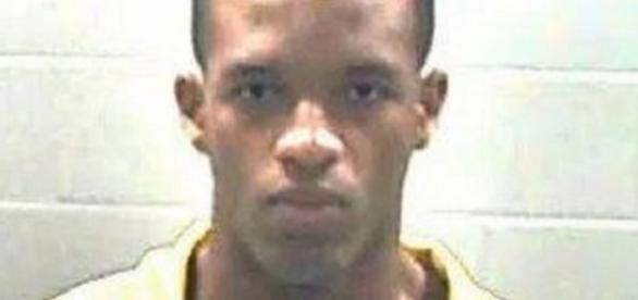 Dwanya Hickerson foi marinheiro e agora está preso (Foto: Jackson County/ Sheriff's Department)