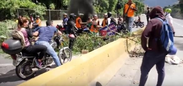 Protests, barricades and violence in Venezuela: A special report - Image - Sky News | YouTube