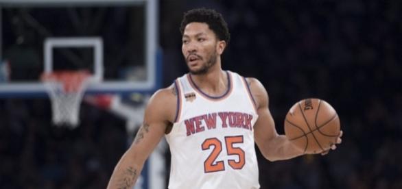 Rose jugó la temporada anterior para los Knick de New York promediando 18 puntos por partido.