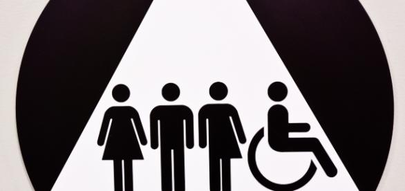"Transgender community may be required by law to use public facilities in line with their ""official"" gender - via Ron Rothbart, Flickr"