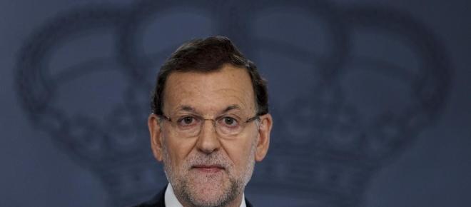 Medios nacionales e internacionales cubren la declaración de Rajoy