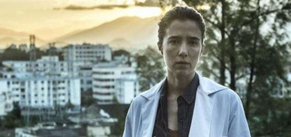 A jovem e já consagrada atriz Marjorie Estiano fala sobre sua experiência em 'Sob Pressão'