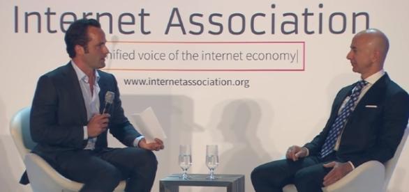 Gala2017: Jeff Bezos Fireside Chat- Image - Internet Association | Youtube