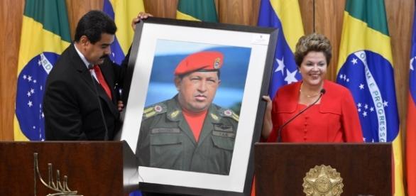 O princípio do fim para a Venezuela estampado em um quadro
