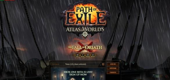 """""""Path of Exile"""" countdown to """"The Fall of Oriath"""" - Picture screengrabbed from writers Steam account"""