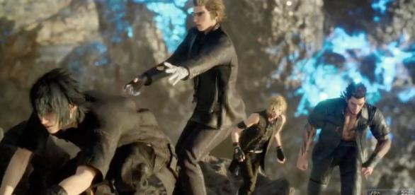 Team up with your friends in the upcoming 'Final Fantasy XV' multiplayer expansion (image source: YouTube/ Asleep in the Fantasy)