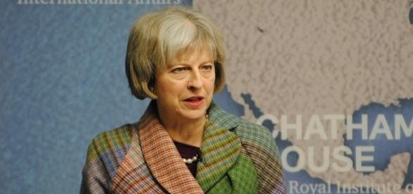 Theresa May Britain | https://upload.wikimedia.org/wikipedia/commons/d/d3/Rt_Hon_Theresa_May_MP%2C_Home_Secretary%2C_UK_%2823261468319%29.jpg