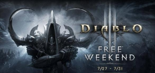 Diablo III: Reaper of Souls - Ultimate Evil Edition free this weekend (Image: xbox.com).