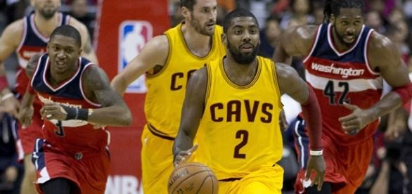 Kyrie Irving/ photo by Keith Allison via Flickr