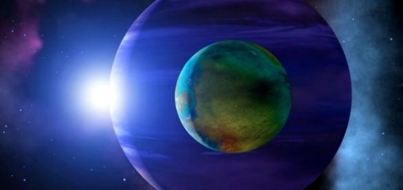 Telescópio Kepler pode ter encontrado a primeira exolua já detectada (Crédito: Twitter/NPA ASSOCIATES LTD/SCIENCE PHOTO LIBRARY)