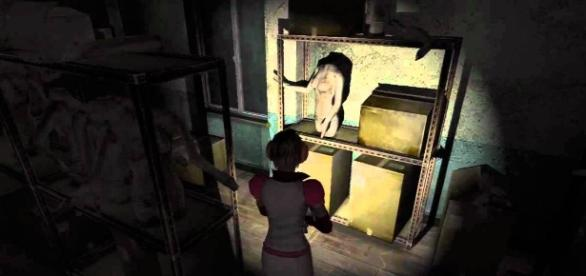 The mannequin room is 'Silent Hill 3' (image source: YouTube/sadisticupid)