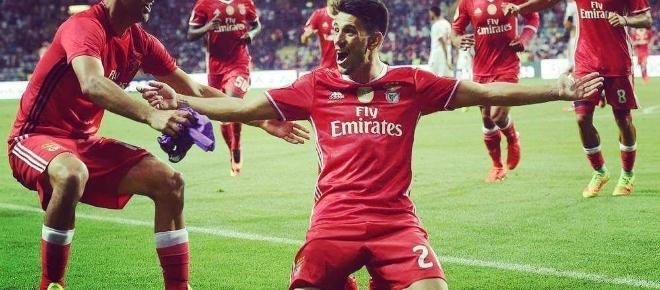 Veja o resumo do jogo Arsenal 5 - SL Benfica 2