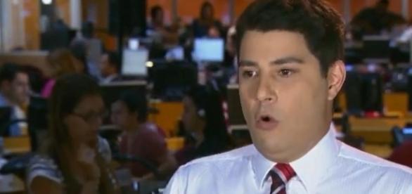 Evaristo Costa decidiu deixar a Globo