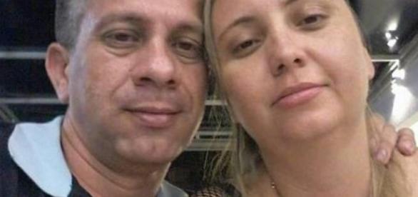 Subtenente Márcio Augusto de Brito Borges e a esposa, Claudineia da Silva Borges, foram encontrados mortos