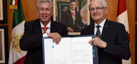 Acuerdo entre México y Canadá elimina restricciones en aeronáutica. - siempre889.mx