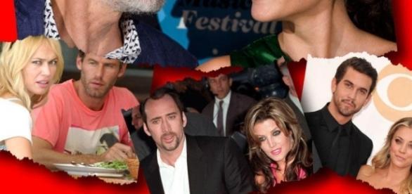 Los famosos tienen matrimonios cada vez más breves