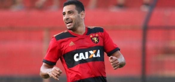 O jogador demonstra querer permanecer no Sport. ( Foto: Reprodução)
