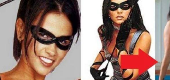 Suzana Alves antes e depois da Tiazinha