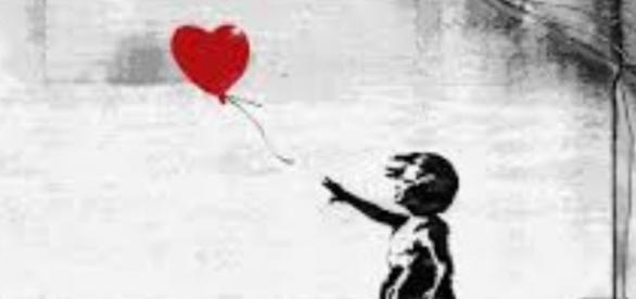 "Banksy's ""Girl With A Balloon"" FAIR USE touchofmodern.com Creative Commons"